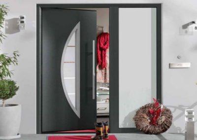 Installation de portes d'entrée Hormann en province de Liège et en Belgique