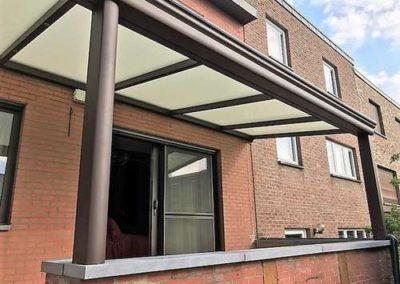 Protection solaire (Pergola Climax) à Wandre (Liège)