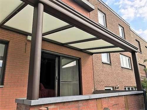 Réalisation Rogister: protection solaire près de Liège