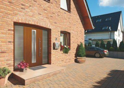 Porte d'entrée pour maison de marque Hörmann