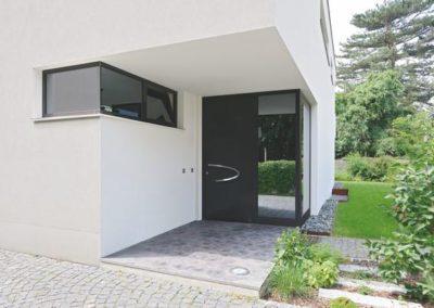 Porte d'entrée en aluminium pour villa - Hörmann