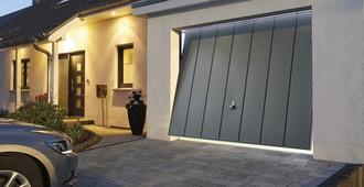 Porte de garage basculante Hörmann (Rogister-Lacroix à Liège)