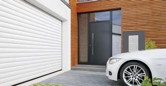 Porte de garage enroulable Hörmann (Rogister-Lacroix à Liège)