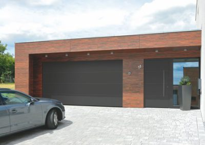 Porte d'entrée Hörmann + porte de garage Hörmann