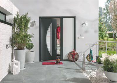 Porte d'entrée Hörmann - Thermosafe, motif 45