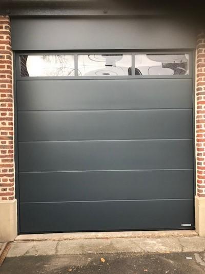 Porte de garage Hörmann à Blégny